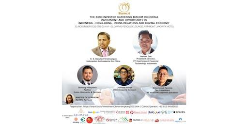 The 33rd Investor Gathering Bizcom Indonesia