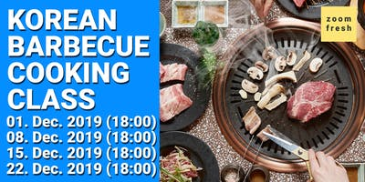 Korean BBQ Cooking Class with Zoom Fresh 15.12.2019