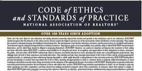 2019 – 2020 NC For the Good of All – The REALTOR Code of Ethics CE Course  tickets