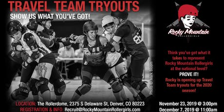 RMRG Travel Team Tryouts #2 tickets