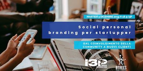 Social Personal Branding per Startupper biglietti