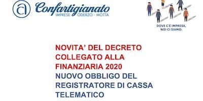 NOVITA' DEL DECRETO COLLEGATO ALLA  FINANZIARIA 2020