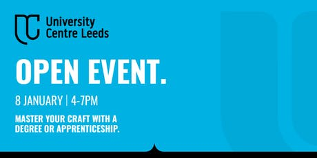 University Centre Leeds Open Event - January tickets