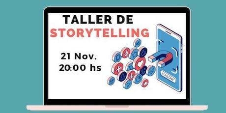 Taller de Storytelling: el Poder de las Historias en Marketing entradas