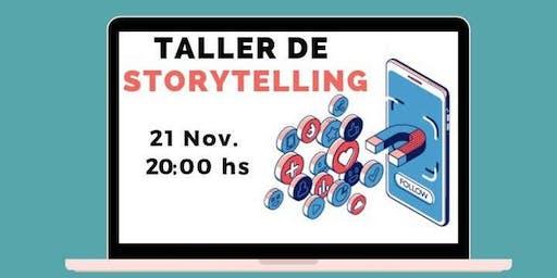 Taller de Storytelling: el Poder de las Historias en Marketing