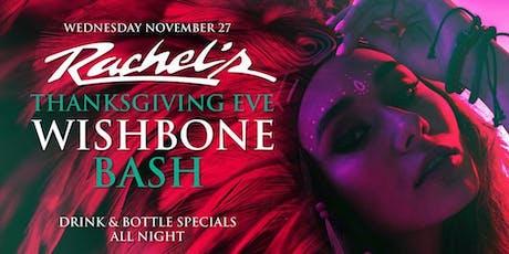 Thanksgiving Eve at Rachel's Palm Beach | TGE | $5 tickets