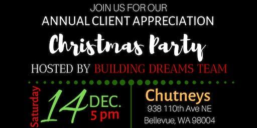 Client Appreciation Christmas Party 2019-Building Dreams Team