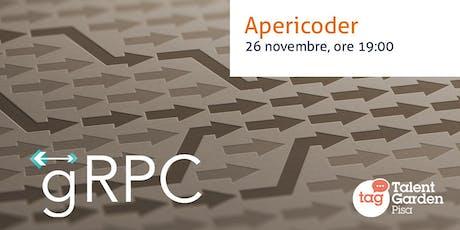 RPC on steroids con gRPC - Apericoder biglietti