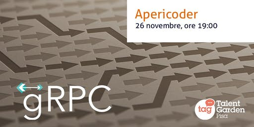 RPC on steroids con gRPC - Apericoder