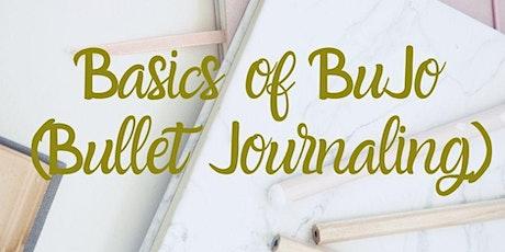 Basics of Bullet Journaling tickets