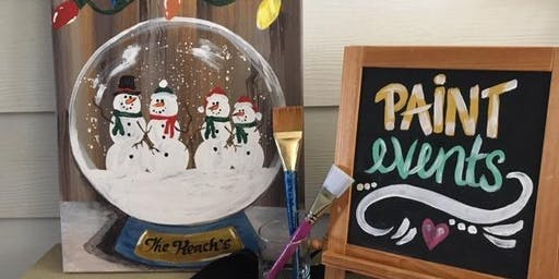 Snow Globe Paint Event