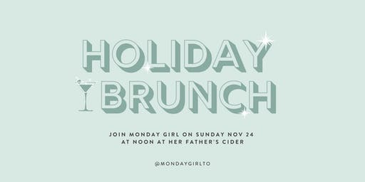 Holiday Charity Brunch with Monday Girl