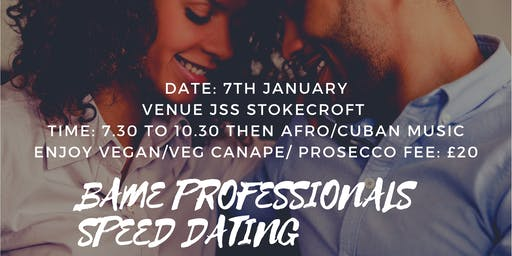 Bame professionals Speed Dating (Inclusive Culture Mingle)