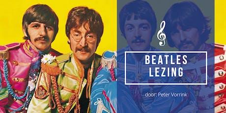 Beatles - lezing tickets