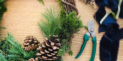 Fresh Holiday Wreath Workshop (& Wine!)