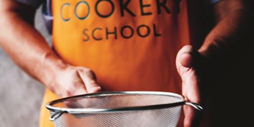 Waitrose Cookery School - Christmas yule log 10 DEC