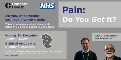 Pain: Do You Get It? - Grantham tickets