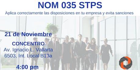 NOM 305 STPS en Guadalajara boletos