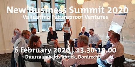 NEW BUSINESS SUMMIT 2020 | Validating Futureproof Ventures tickets