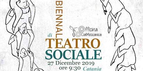 Workshop di Drammaterapia - II BIENNALE di TEATRO SOCIALE biglietti