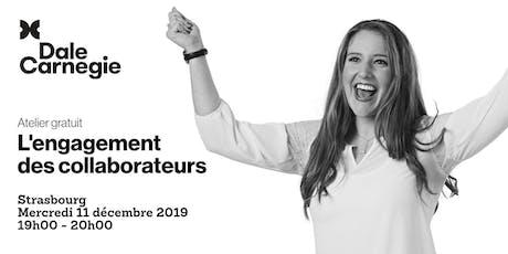 L'engagement des collaborateurs - Atelier gratuit à Strasbourg billets