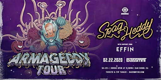 Spag Heddy with Effin at Bassmnt Saturday 2/22