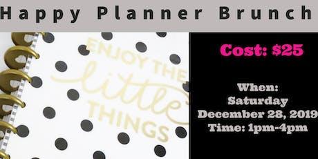Happy Planner Brunch tickets