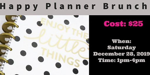 Happy Planner Brunch