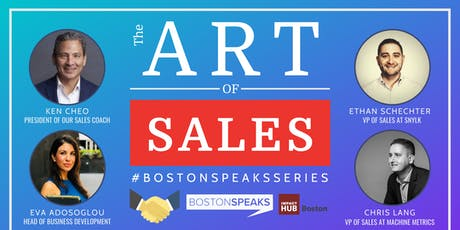 The Art of Sales | BostonSpeaksSeries tickets