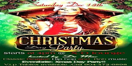 Christmas Day Party tickets