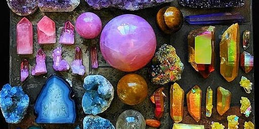 Crystal Healing & Chakra Meditation Workshop