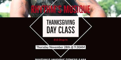 Rhythm's Musique Dance Fitness Thanksgiving Bash