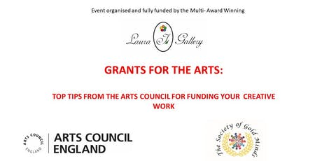 GRANTS FOR THE ARTS: TOP TIPS FROM THE ARTS COUNCIL FOR FUNDING YOUR WORK tickets