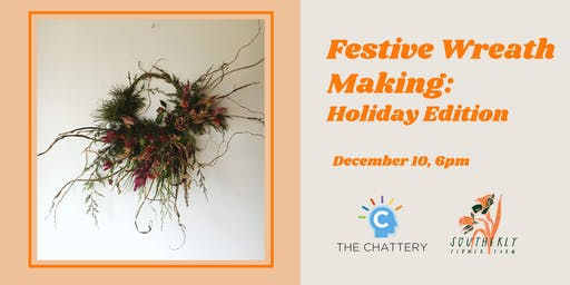 Festive Wreath Making: Holiday Edition