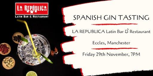 Spanish Gin Tasting Masterclass