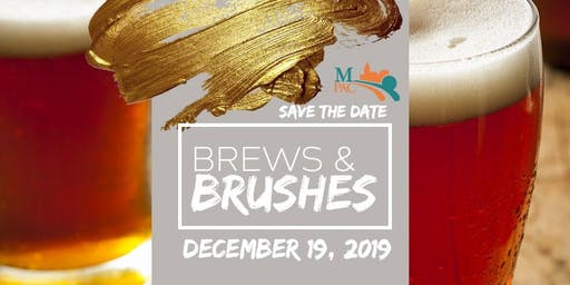 Brews and Brushes Holiday Paint and Sip Party