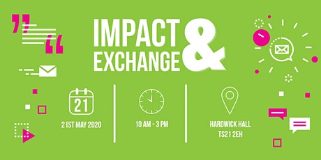 Impact & Exchange Expo May 2020 - Exhibitor Application tickets