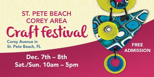 25th Annual St. Pete Beach Corey Area Craft Festival