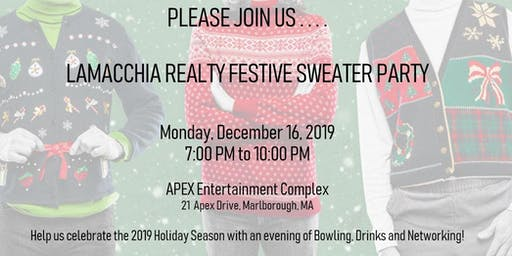 Lamacchia Realty Festive Sweater Party & Bowling