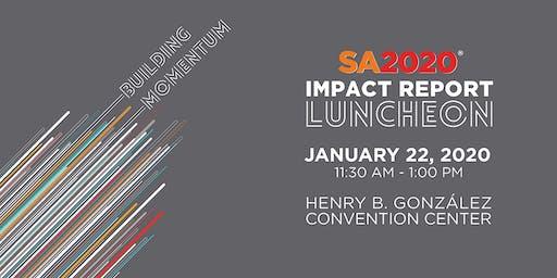 SA2020 2019 Impact Report Luncheon