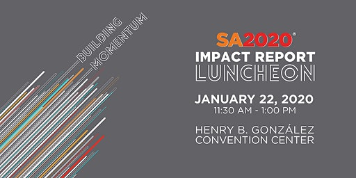 SA2020 2019 Impact Report Luncheon