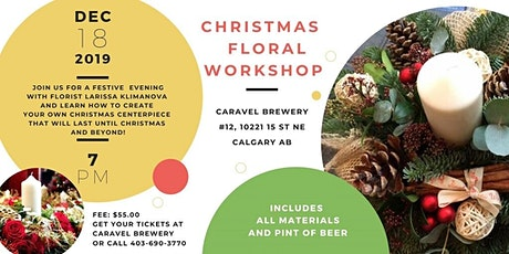 Christmas floral workshop tickets