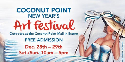 9th Annual Coconut Point New Year's Art Festival