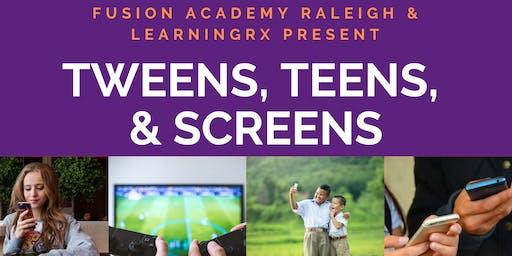 Tweens, Teens, and Screens Workshop