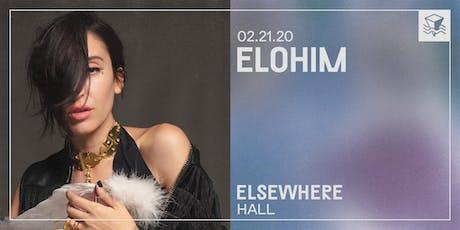 Elohim @ Elsewhere (Hall) tickets
