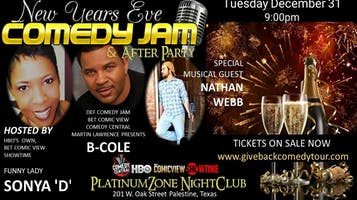 New Year's Eve Comedy Jam & After Party