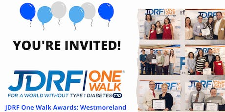 JDRF One Walk Awards Party: Westmoreland tickets