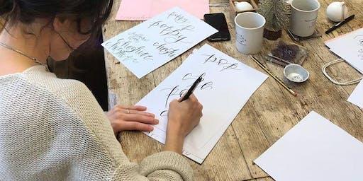 Christmas Workshop - DIY Wreath Making and Beginners Calligraphy