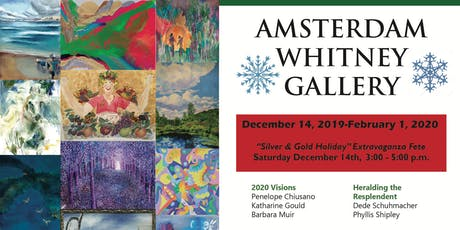 Amsterdam Whitney Gallery's December 2019 Exhibition tickets