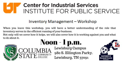 Inventory Management Workshop